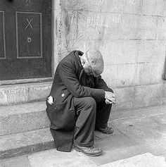 despondent- this shows that this guy is sad and in low spirits