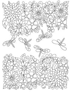 magic in the garden by liltcoloringbooks garden coloring pages adult coloring pages colorful garden