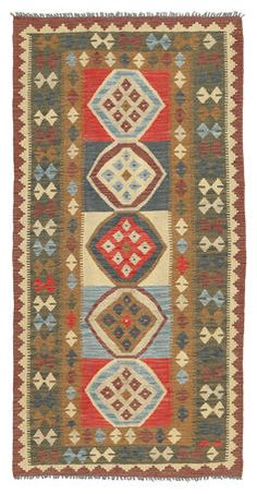 Kelim Afghan Old style-matto 96x199
