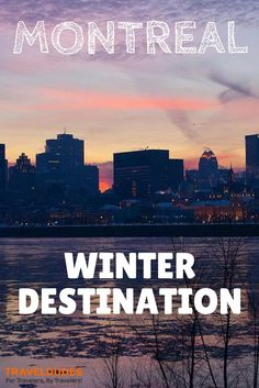 Montreal in Quebec, Canada: My Winter Destination - It's just around 6 hours by plane from Europe, which makes it closer than a drive to the Alps for me, living in Cologne (Germany).: