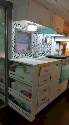 Insanely Awesome Organization Camper Storage Ideas Travel Trailers No 58