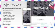 Volar - Responsive & Multipurpose WordPress Theme • Download theme ➝…