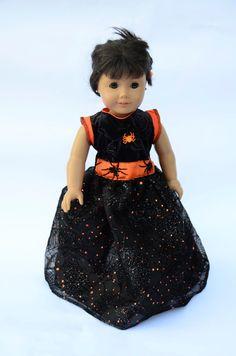 American Girl Doll Halloween Dress by AmericanGirlDollRhea on Etsy, $20.00