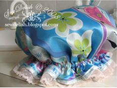 The Best Free Crafts Articles: How To Make A Shower Cap Free Tutorial From SewDelish Blog
