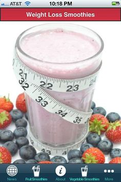 Weight loss smoothies and health tips.If you are trying to get healthy and need ideas for healthy, yet tasty foods and drinks, check out this weight loss smoothies app. This app includes some simple weight loss smoothie recipes as well as some general health information and a place for you to share your favorite smoothie recipes.Making smoothies is an art more than a science. There is no need to worry about an exact recipe because every piece of fruit has a different level of flavor so...