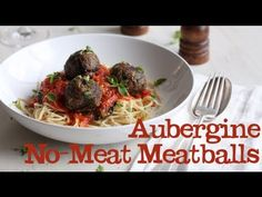 Aubergine No Meat Meatballs  This is Abel&Cole - lots of aubergine recipes - must try this and the burger, plus the one with the lentils, the beer battered auberg......lolol
