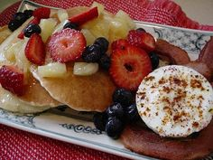 Hawaiian pancakes!
