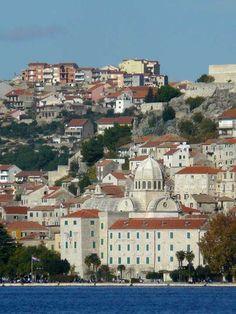 Šibenik (where my heart is) always :) this is so beautiful and breathtaking indeed! Croatia!