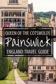 This market town is one of the best places to visit in the Cotswolds. Here's a guide to the best things to do in Painswick (including a Rococo Garden)! Backpacking Europe, Europe Travel Guide, Travel Uk, Travel England, Europe Budget, Travelling Europe, Slow Travel, Cheap Travel, Travel Deals