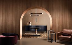 I love the Moroccan inspired arch...