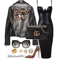 "1f59f70a22 FK21 on Instagram  ""Wild Ting🐯🖤 DETAILS  Jacket Bag  Gucci"