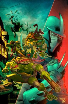 Ninja Turtles & Shredder