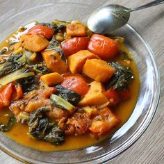 Meatless Monday: Sweet potato and Swiss chard curry | I try to eat healthy