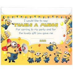 All-Ways Design Party GLOSSY Thank You Cards Inspired by Superheroes x 20 with Envelopes