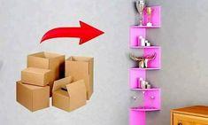 DIY Room Decor & Organization from Cardboard By DIY ...