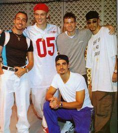 backstreet boys, yes i still like them lol