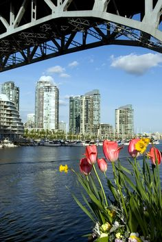 Granville Island, Vancouver in the spring. #Canada #Canadian #British_Columbia