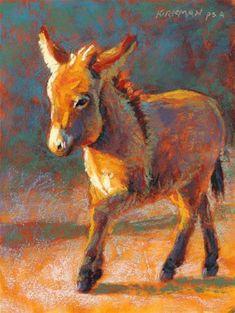 "Daily Paintworks - ""Don Kelani"" - Original Fine Art for Sale - © Rita Kirkman"