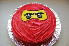 Doriaan's 8th Birthday Ninjago Cake...so easy:)