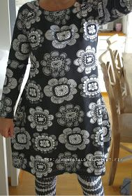 Ehta kaava Redo Clothes, Clothing Redo, Learn To Sew, Frocks, Handicraft, Diy And Crafts, Sewing Projects, Fashion Outfits, Stitch