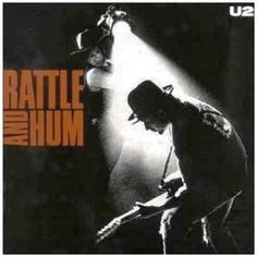U2 released 'Rattle and Hum' today in #music #history, 10 October #1988. #u2 #rock #eighties #80s #remember #albumcover #Spinogle