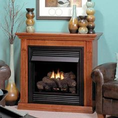 12 Awesome Vented Natural Gas Fireplace Picture Idea