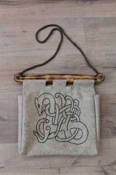 Viking Bag from Hedeby by NornasMystery on Etsy