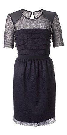Narcisse Lace Short Sleeve Dress ~ Whistles