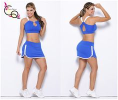 Ropa Deportiva Mujer  Conjunto Deportivo Ref. 621-3 Looks Academia, Lindy Hop, Outfits Mujer, Athletic Gear, Gym Style, Cute Skirts, Air Max 90, Courses, White Nikes