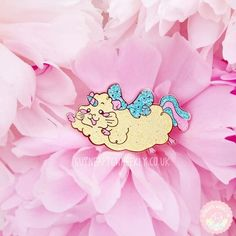 "Guinea Pig Enamel Pin, ""Unicorn Unipig"" By Guinea Pig Wheekly UK - Rose Gold Glitter Pastel Lapel Pin Unicorn Pig, Cute Unicorn, Handmade Shop, Etsy Handmade, Handmade Gifts, Aesthetic Colors, Rose Gold Glitter, Gifts For Teens, Guinea Pigs"
