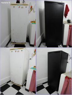Blog Tudo ao meu Amor: Como reformar uma geladeira gastando pouco