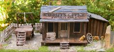 Old West Sheriff's Office & Jail  Model Train Building