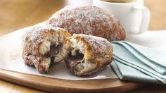Espresso Hazelnut Beignets recipe from Pillsbury.com