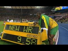 Usain Bolt beats Gay and sets new Record - from Universal Sports - YouTube