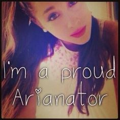 Ariana Grande is my inspiration to anything! If its singing or fashion! She's the best and I love her! Go Grande or go home! I love you Ari! #ArianaGrande #inspiration❤
