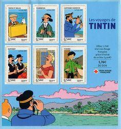Les voyages de Tintin