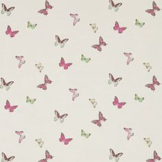 Sanderson - Traditional to contemporary, high quality designer fabrics and wallpapers | Products | British/UK Fabric and Wallpapers | Butterfly Voile (DWOW225512) | Woodland Walk