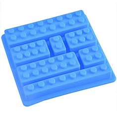 Hoomall Silicone Ice Moulds Baking Mat Cake Bakeware Chocolate Candy Molds for Handmade DIY Food Sky-Blue