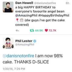 angel bean and d-slice are dan and phil married