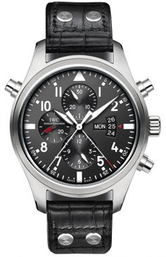 IWC Pilot's Watch Double Chronograph IW377801 RRP: USD $12,500