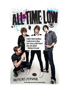 All Time Low :P