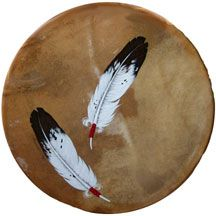 giovanna paponetti artist designs native american drums