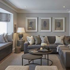 CONTEMPORARY LIVING ROOM | Grey Living Room | bocadolobo.com/ #contemporarydesign #contemporarydecor