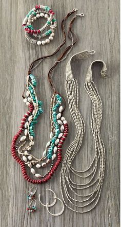 Southwest-inspired jewelry | www.jjill.com