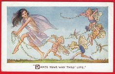 SIGNED FAIRIES FAIRY DANCE