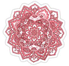 Mandala Design by MZawesomechic http://www.redbubble.com/people/mzawesomechic/works/11642563-mandala-design?p=sticker&ref=shop_grid