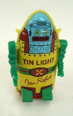 Mr. Robot | Vintage and Retro Space Age Raygun, Rocket and Robot Toys | Sugary.Sweet | #SpaceAge #Toy #Robot #SciFi