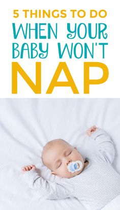 What to do when your baby won't nap. 5 mind-blowing baby sleep tricks to try when your baby refuses to sleep. How to get baby to nap when they fight sleep. Toddler Sleep, Kids Sleep, Kids Learning Activities, Infant Activities, Baby Wont Nap, Baby Sleeping Chart, Toddler Milestones, Newborn Needs, Baby Sleep Schedule