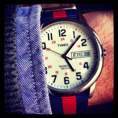 I so want this. Even if it's a men's watch. - FashionFilmsNYC.com