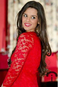 Crimenes de la Moda: Vestido rojo de encaje